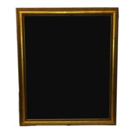 Gold Rim Large Blackboard Frame