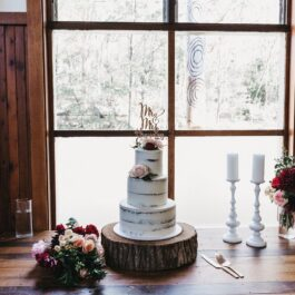 Cake Stand Wood