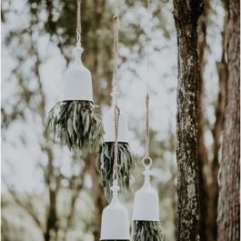 Hanging Wedding Bells