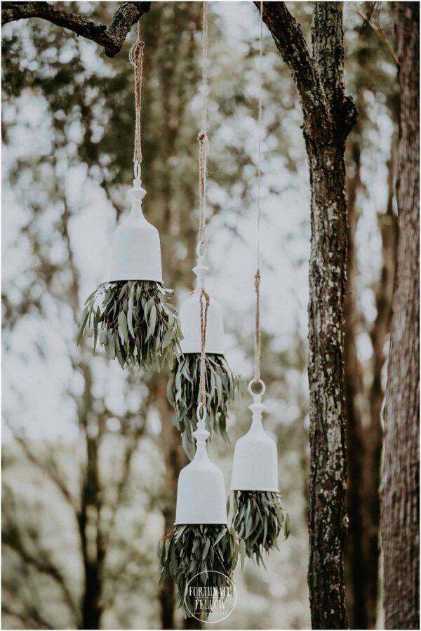 Hanging Wedding Bells