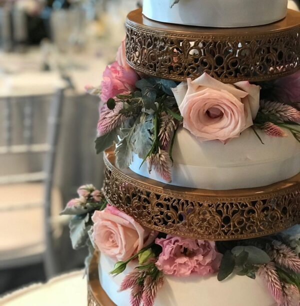 Cake Stand Gold
