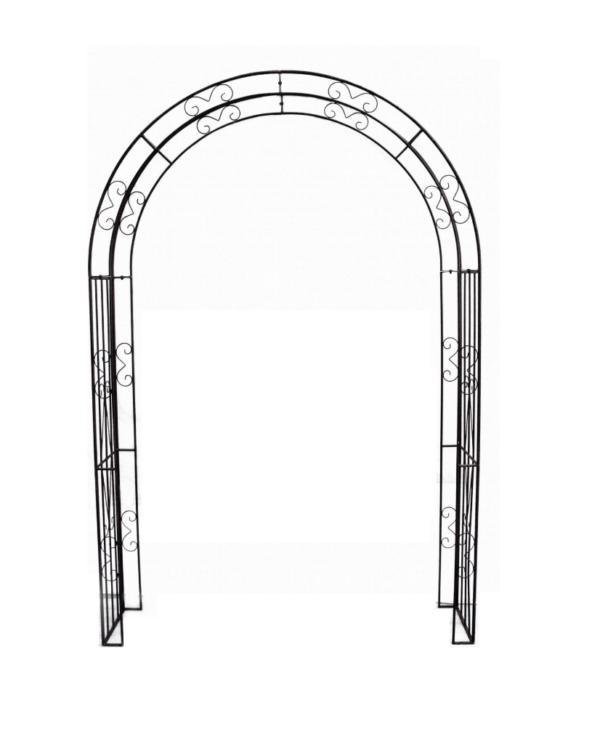Black Filigree Arch1
