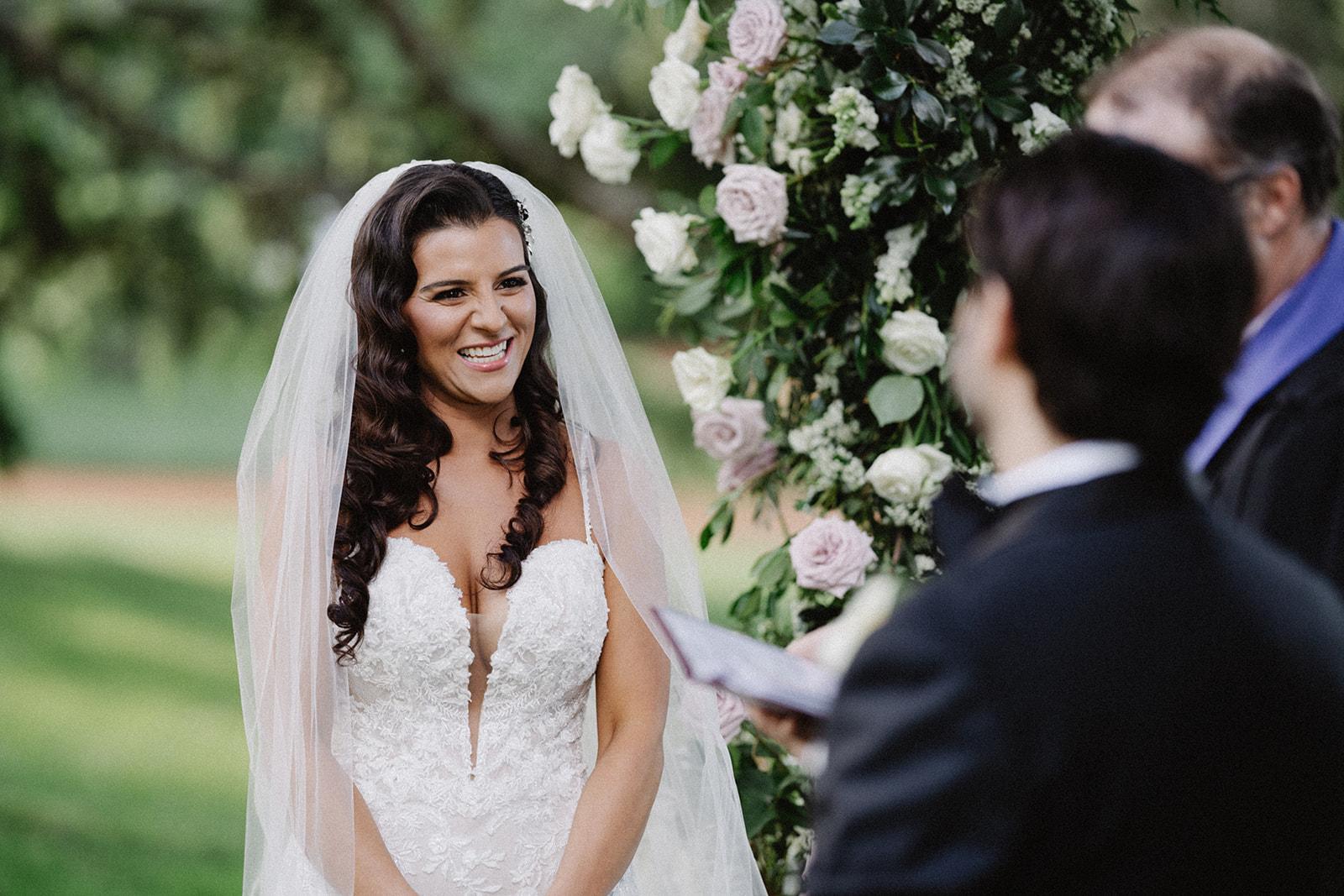 happy bride | Tumbleweed Events