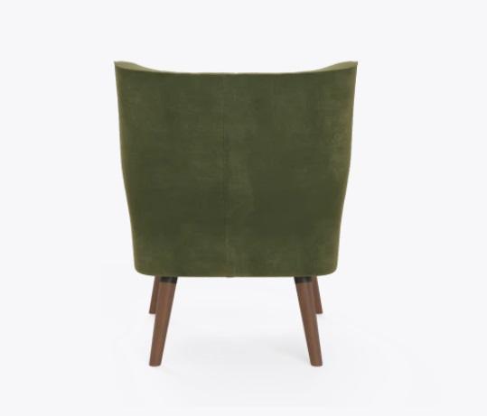 Green Love Chair Back