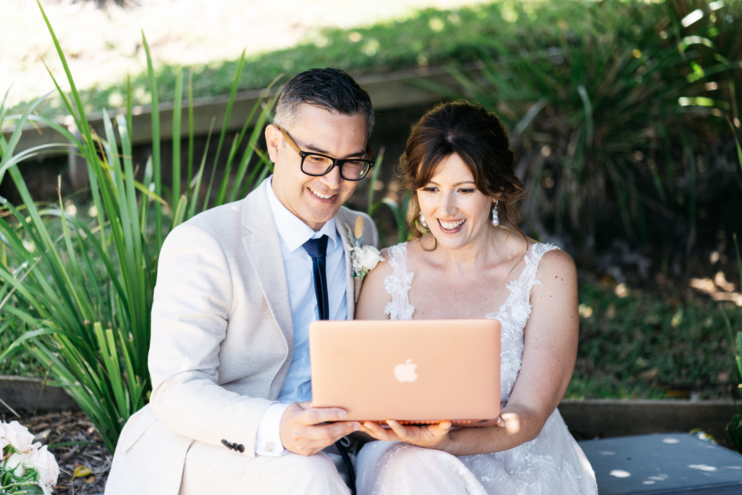 wedding of Nadia and Phil - online guests | Tumbleweed Events