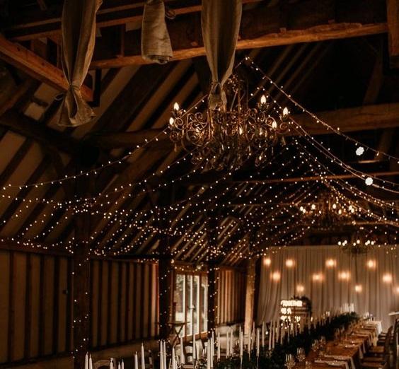 Fairy Lights Barn