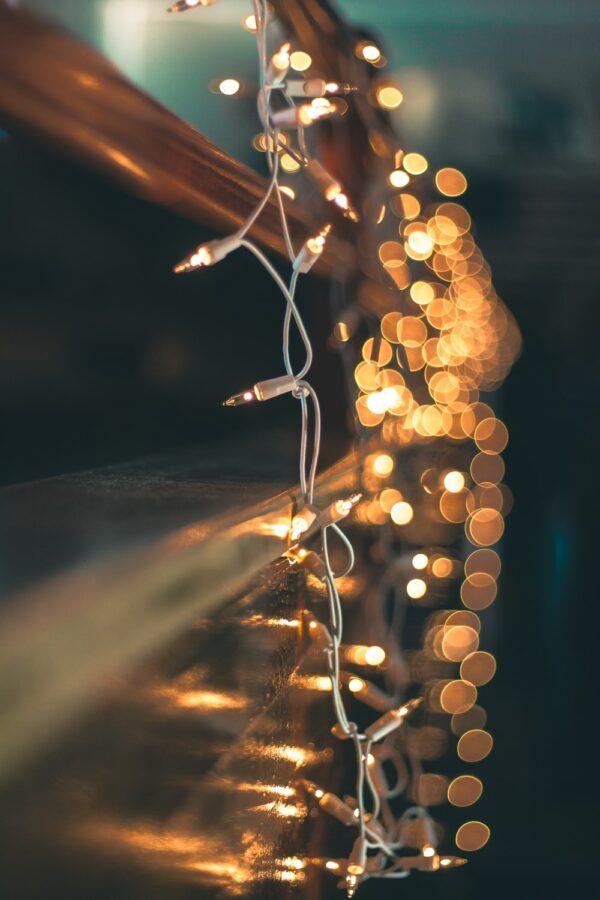 Fairy Lights Up Close