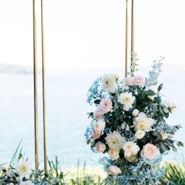 Gold tall frame
