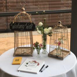 Wishing Well Birdcage