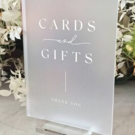 Cards And Gifts Frosted