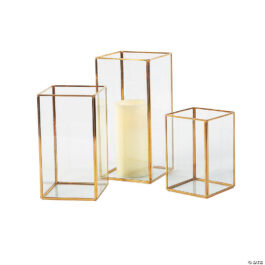 Gold Frame Candles