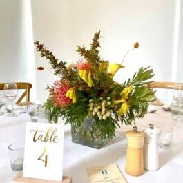 Natives with table number
