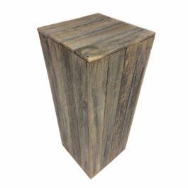 Rustic Timber Plinths