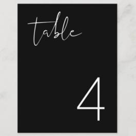 Table No Black